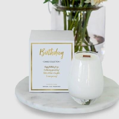 Gratitude Candle Birthday Wishes