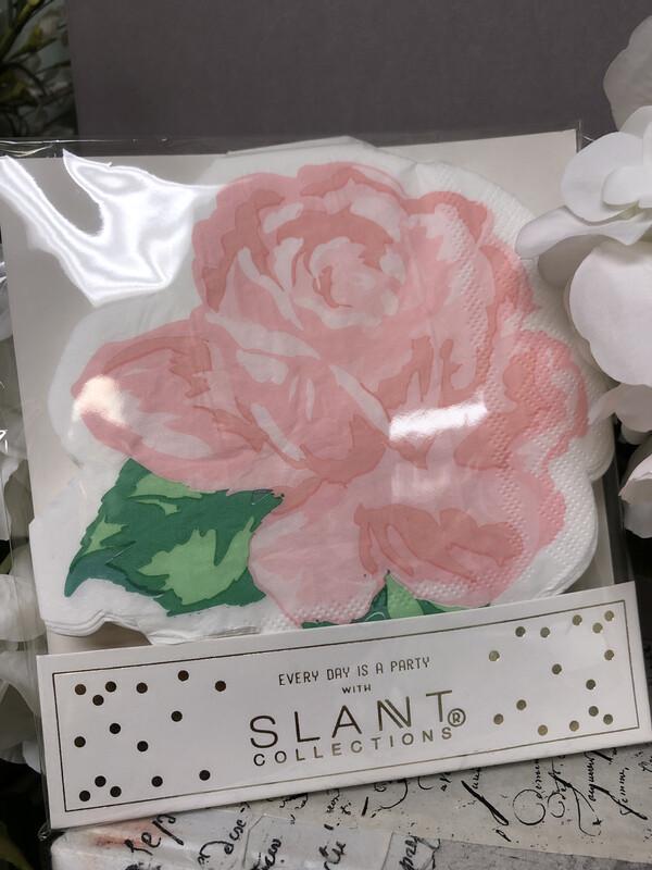 Napkins Pink Flower