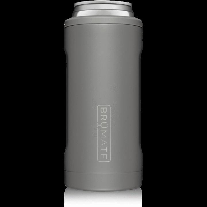 BruMate Hopsulator Slim Matte Gray