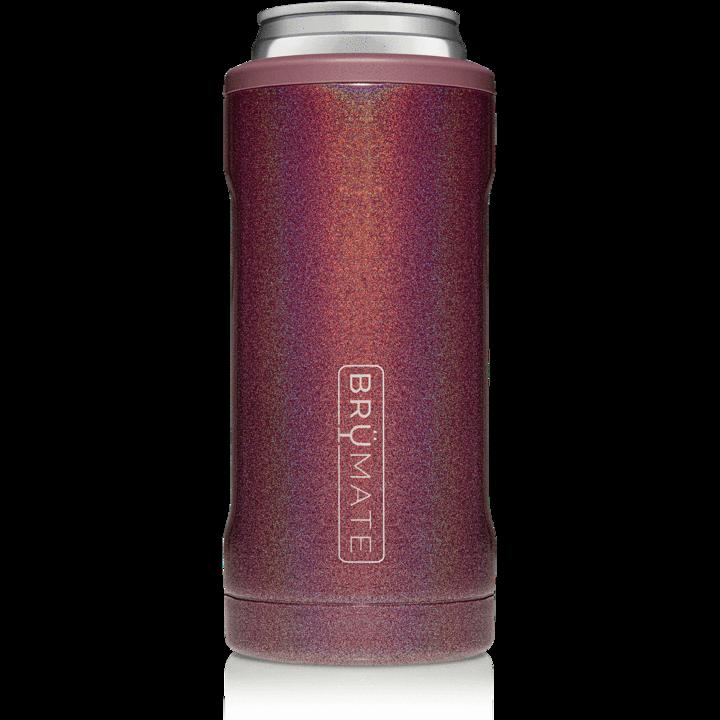BruMate Hopsulator Slim Glitter Merlot