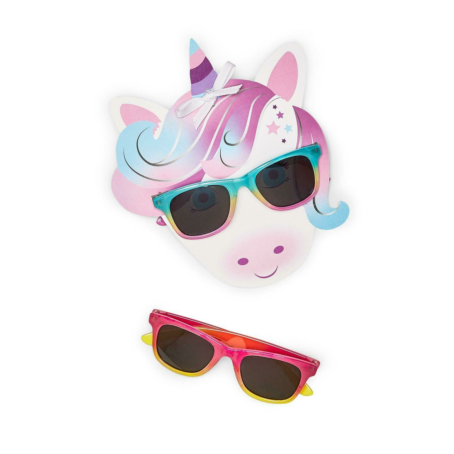 Unicorn Sunglasses Pink/Yellow