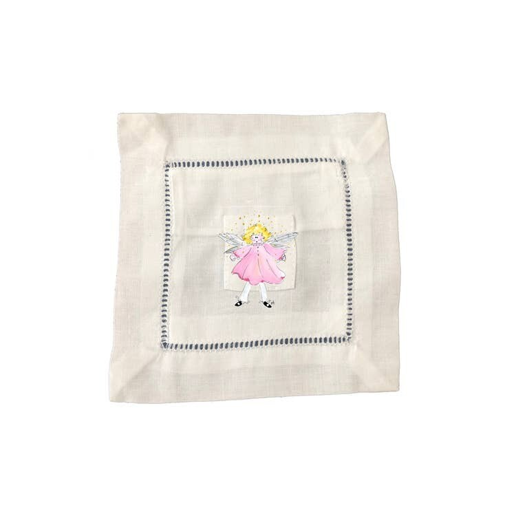 DBB Small Tooth Fairy Pillow Pink Dress Fairy