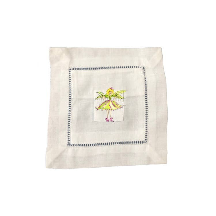 DBB Small Tooth Fairy Pillow Yellow Fairy