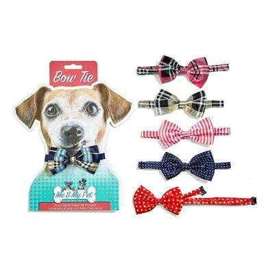 TC Me and My Pet Bow Tie Pink Plaid