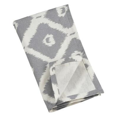 "SS 999 20"" 4-Piece Napkin Set Silver"