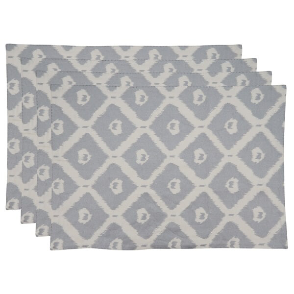 SS 999 14x20 4-Piece Placemat Silver