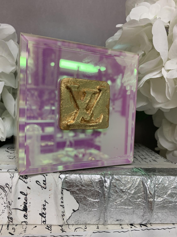 Designer Jewelry Box Iredescent LV