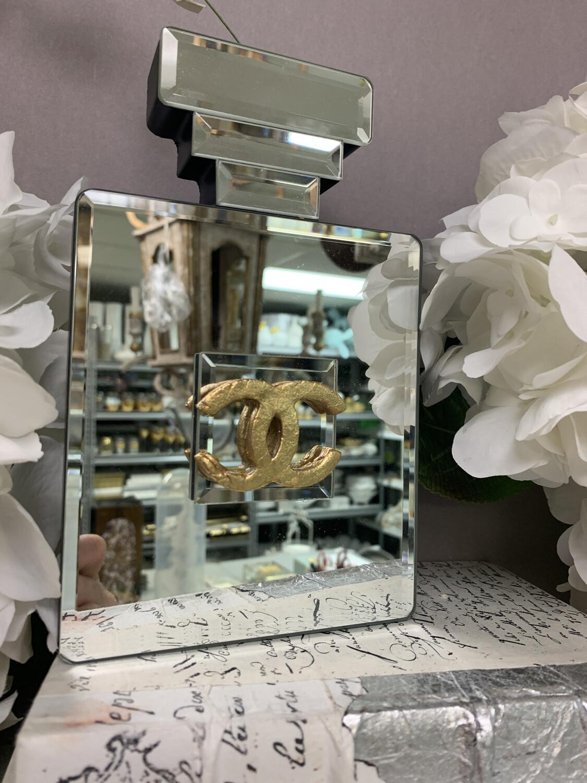 Designer Mirror Bottle Decor CC