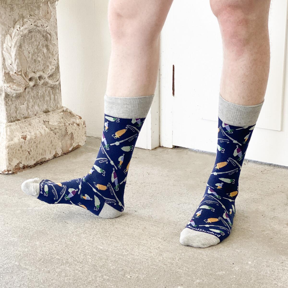 TRS Men's Hook Line & Sinker Socks