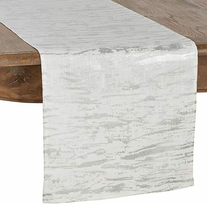 SS 1612 16x72 Table Runner Silver