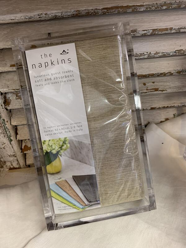 Napkins Guest 15 Count