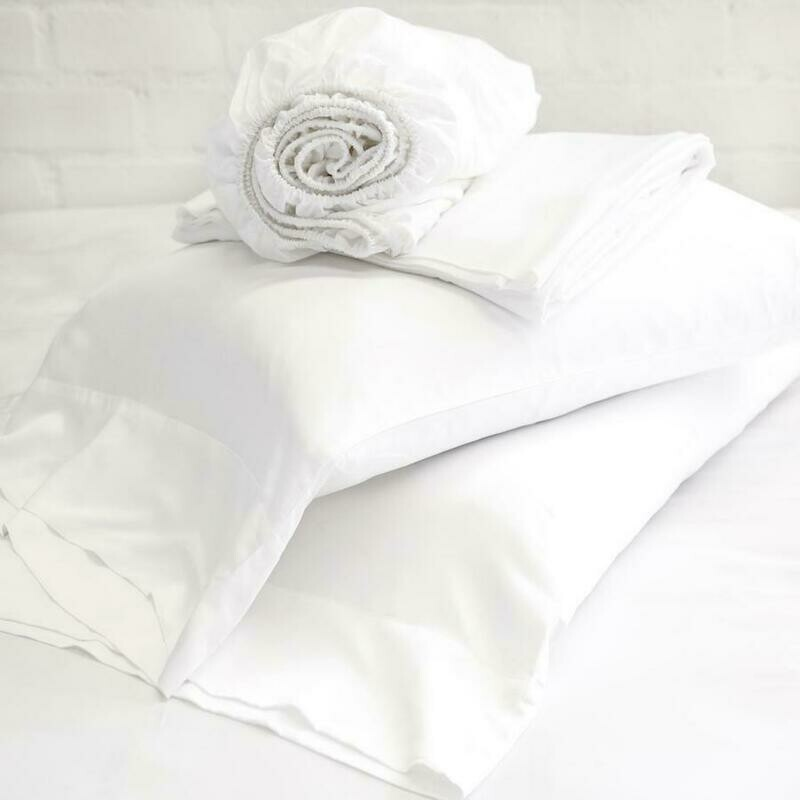 PomPom Bamboo Queen Sheet Set