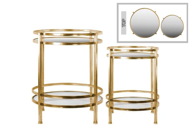 UT Metal Round Table Large