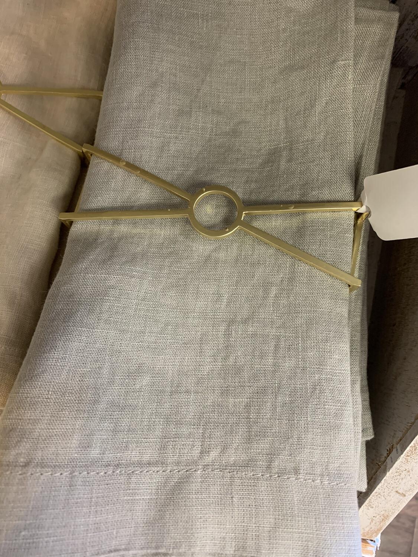 Napkin Wraps Set of 4 Circle X Design