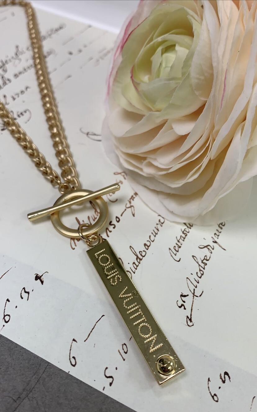 Designer Necklace LV Long