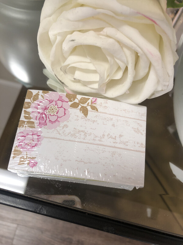 50 Gift Tags Rose Cottage