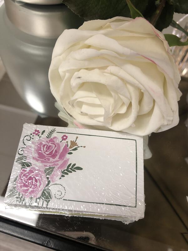 50 Gift Tags Farmhouse Flowers