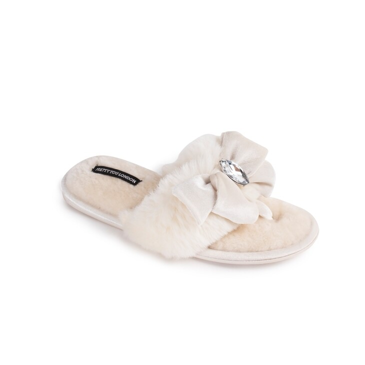 PYL Diana Slipper Cream LARGE
