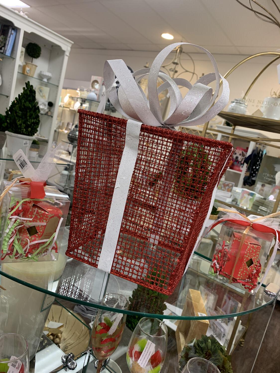 Christmas Present Decor Red