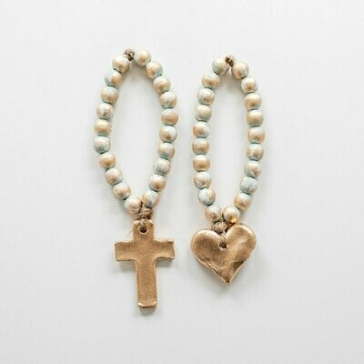 """SS Blessing Bead Bitty 7.5"""" Turquoise"""