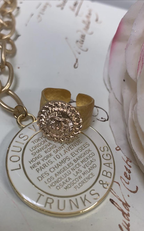 Designer Ring Gold CC