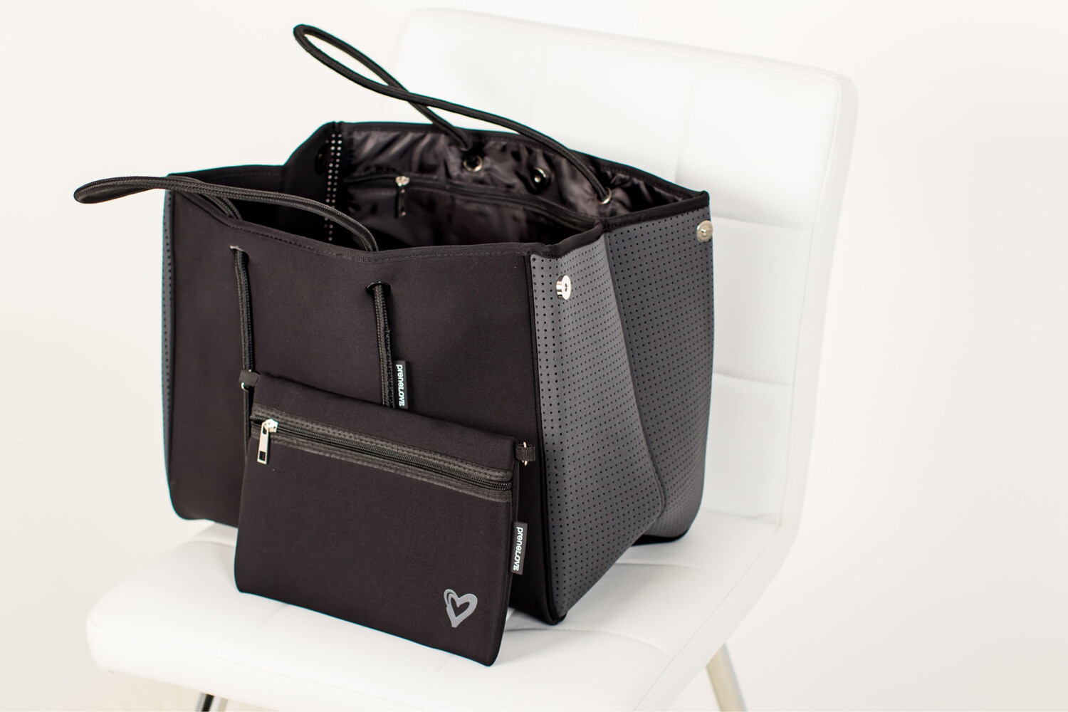PreneLOVE Large Tote Storm