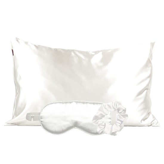 Kitsch Satin Sleep Set Ivory