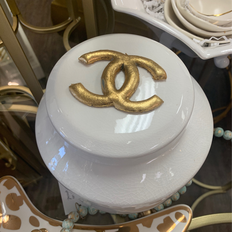 Designer Jar White CC
