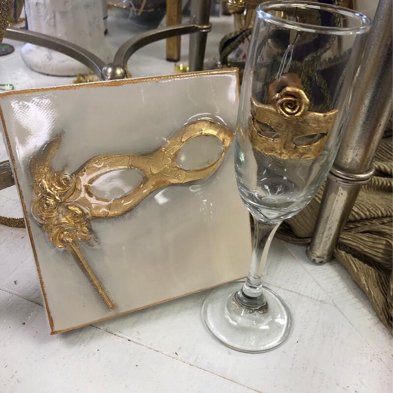 Designer Mask Champ Glass