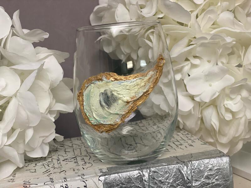 KA Stemless Oyster Glass
