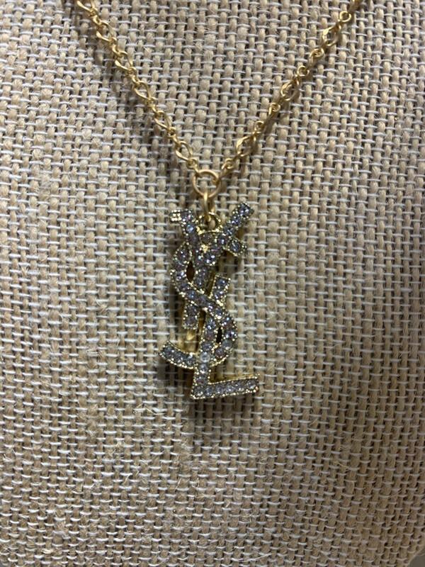 Designer Necklace Saint Laurent Diamond
