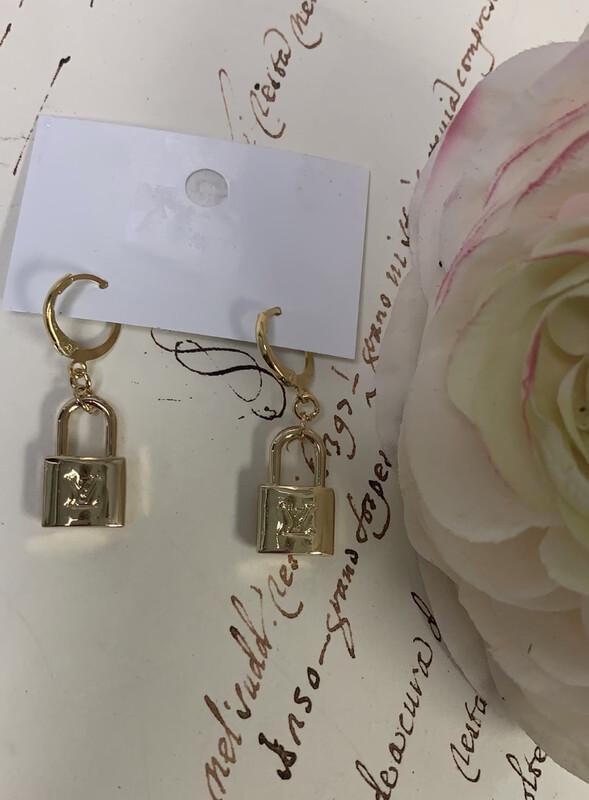 Designer Earrings Lockets LV