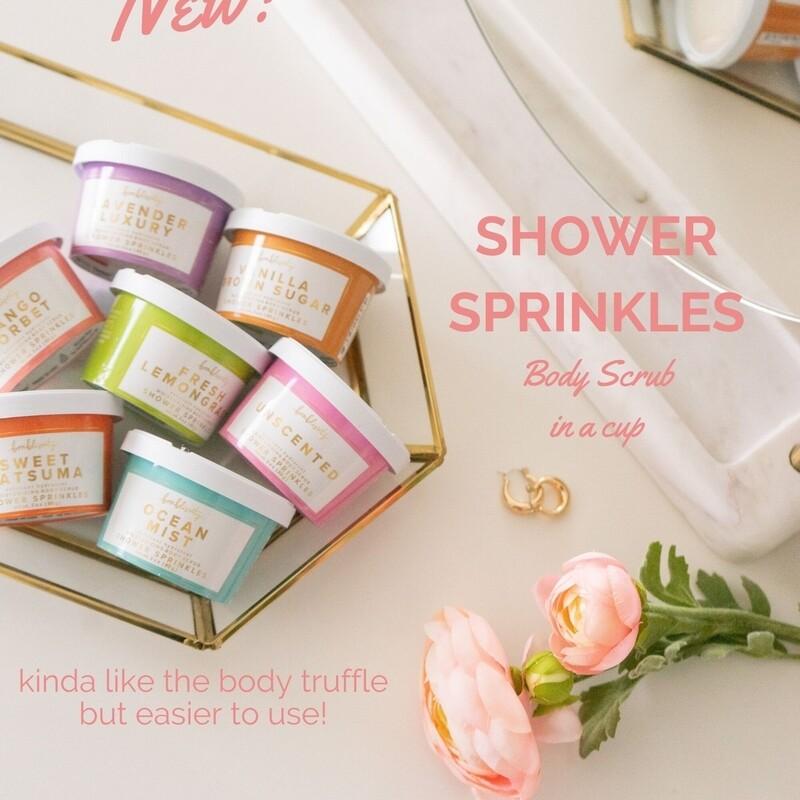 Bonblissity Shower Sprinkles Mango Sorbet