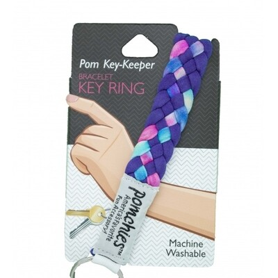 Pomchies Key Keeper Tye Dye