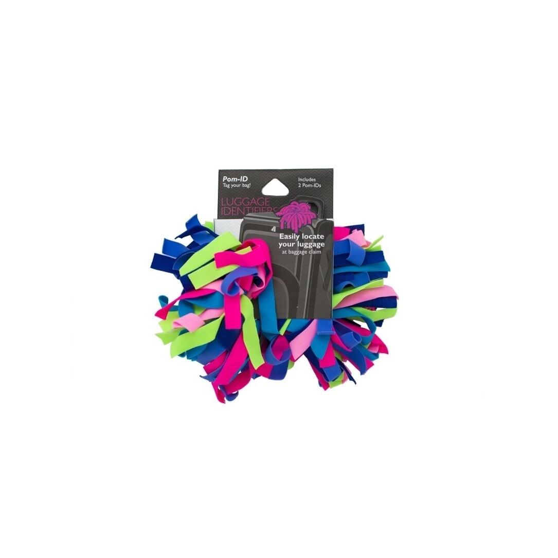 Pomchies Luggage ID 2-Pack Kaleidoscope