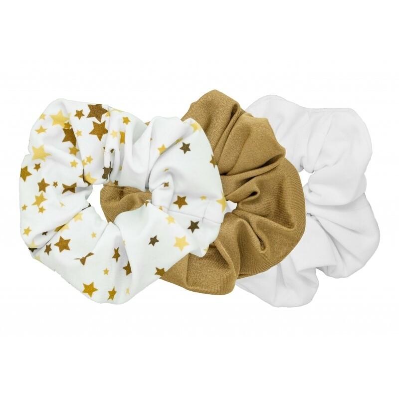 Pomchies Scrunchie 3-Pack Gold Stars