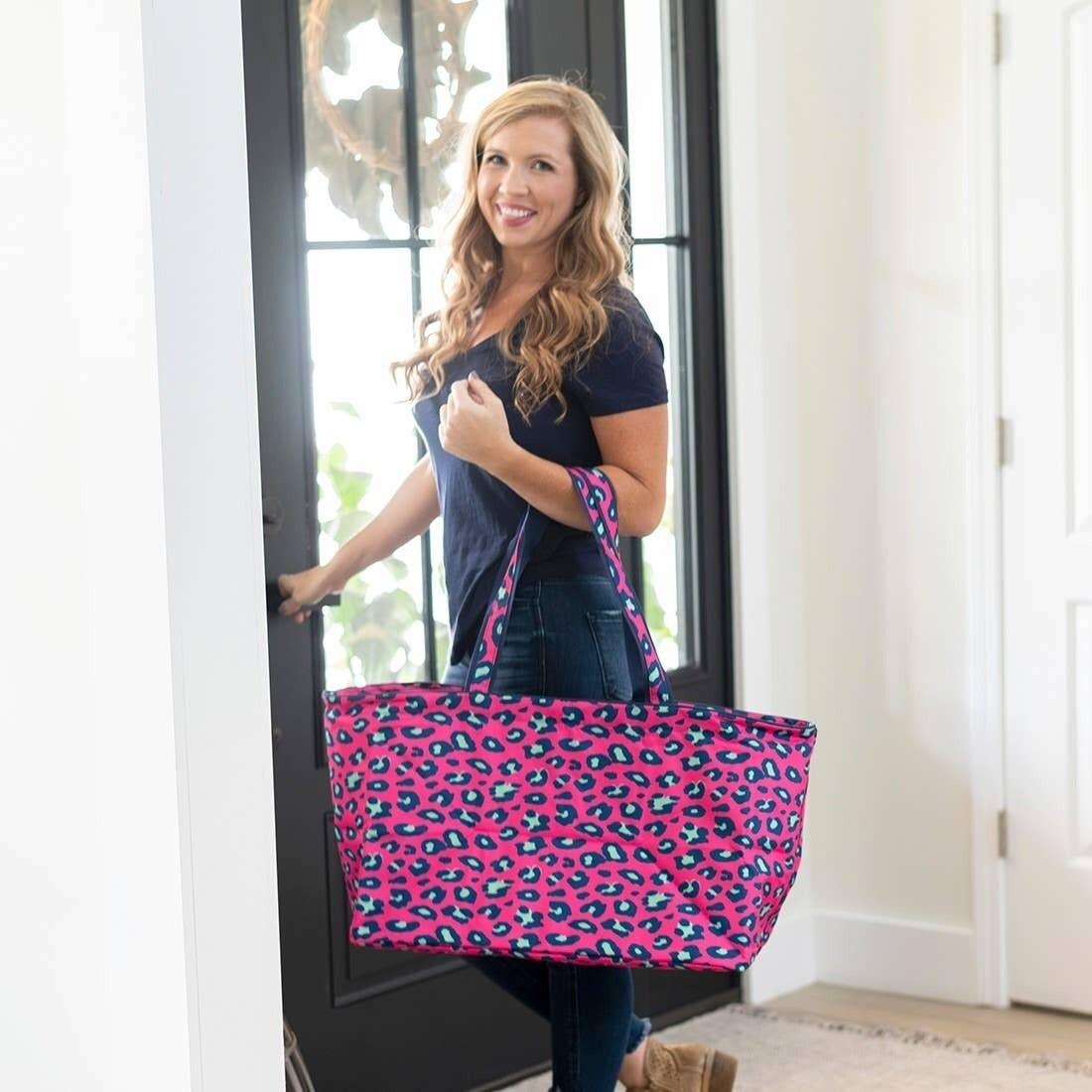 VL Tote Pink Leopard