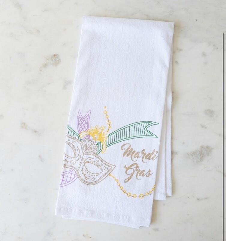 TRS Mardi Gras Mambo Towel