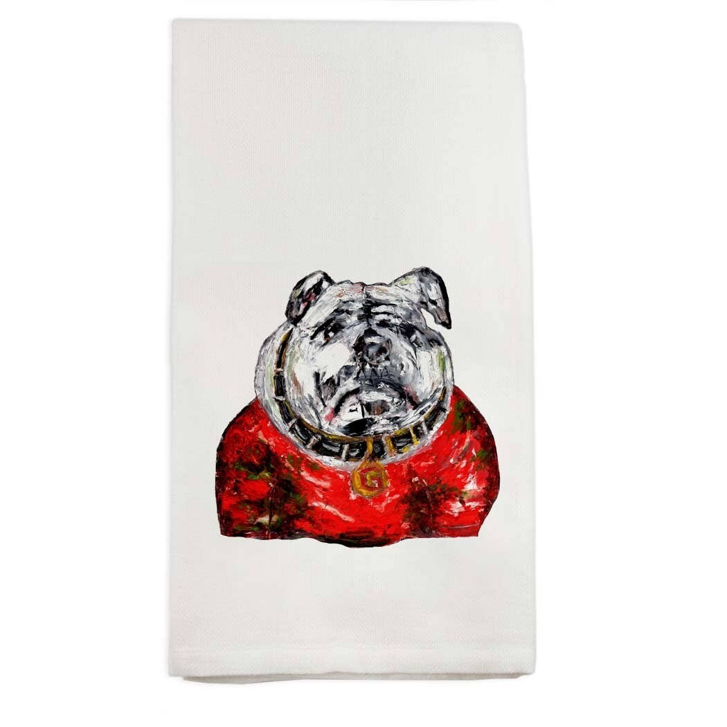FG Cotton Towel Bulldog