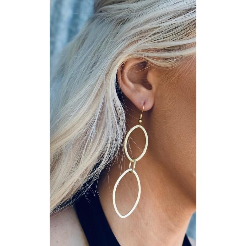 SJ Earrings Oval & Oval Again