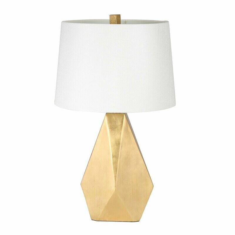 SB Gold Geo Table Lamp