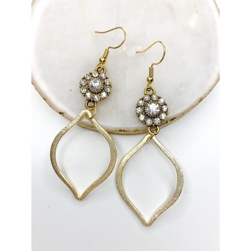 SJ Earrings Stone