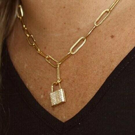 SJ Necklace Locks Of Love