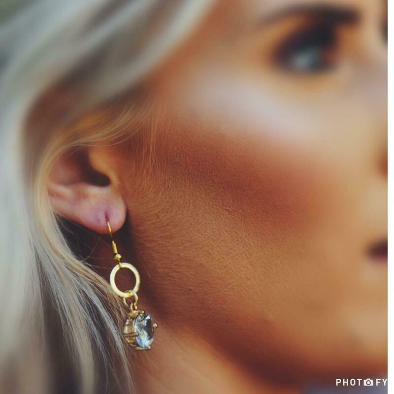 SJ Earrings Pretty Little Stone
