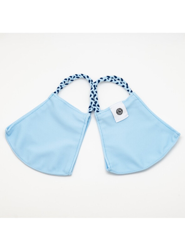 Pomchies Mask Solid Light Blue