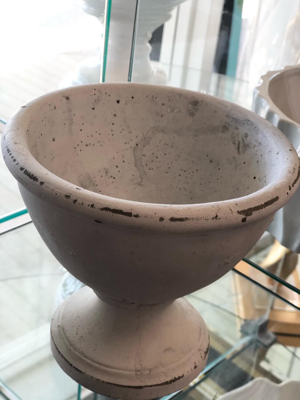 AD White Pot Small