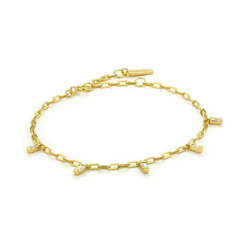 Ania Haie Glow Drop Bracelet Gold