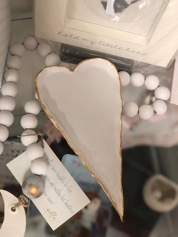 BSD Heart Tray White