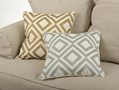 SS 966P Gold Pillow Cover