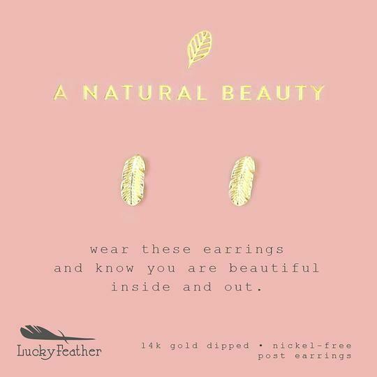 LF Earrings A Natural Beauty